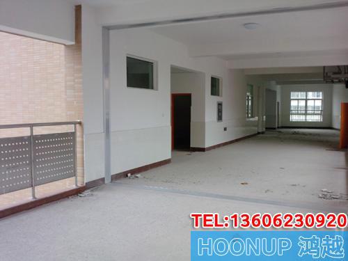 杭州第一中学连廊变形缝